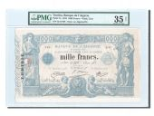 Tunisie, 1000 Francs 1918, PMG Ch VF 35, Pick 7a