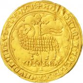 France, Jean II The Good, Mouton dor, Undated, AU(55-58), Gold, Duplessy:291