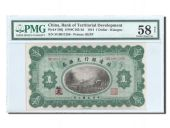 China, Territorial, 1 Dollar 1914, PMG Ch AU 58, Pick 566j