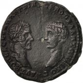 Macrinus and Diadumenian, Bronze, Marcianopolis, VF(30-35), Bronze