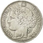 coin, France, Cérès, 5 Francs, 1870, Bordeaux, VF(30-35), Silver, KM:818.3