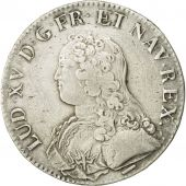 Coin, France, Louis XV, Ecu, 1732/1, Lille, VF(30-35), Silver, Gadoury:321
