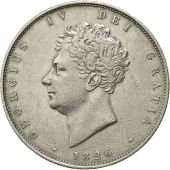 Coin, Great Britain, George IV, 1/2 Crown, 1826, AU(55-58), Silver, KM 695