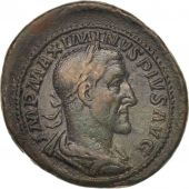 Maximinus I, As, Rome, EF(40-45), Bronze, RIC:66