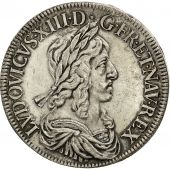 Coin, France, Louis XIII, Écu de 60 Sols, 2nd poinçon de Warin, 1643, Paris