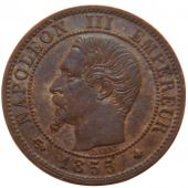 Second French Empire, 1 Centime Napoléon III Bare Head