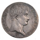 First Empire, 5 Francs Napoléon Emperor