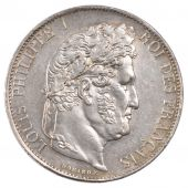 Louis Philippe I, 5 Francs with laureate head, I more distant